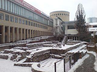 Schirn_Art_Museum_In_Frankfurt_&_Ruins_I